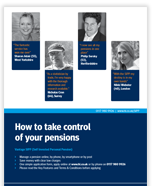 How to make more of old pensions