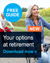 Download your free guide to Your options at retirement
