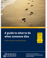 Guide to What to do When Someone Dies