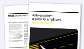 Employer's guide to auto-enrolment