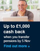 £1,000 Cash Back Offer