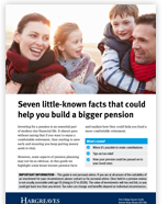 7 little-known facts to help build a bigger pension