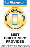 Best Direct SIPP Provider 2016