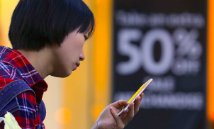 Smartphones overtake shopping centres as a popular way to shop