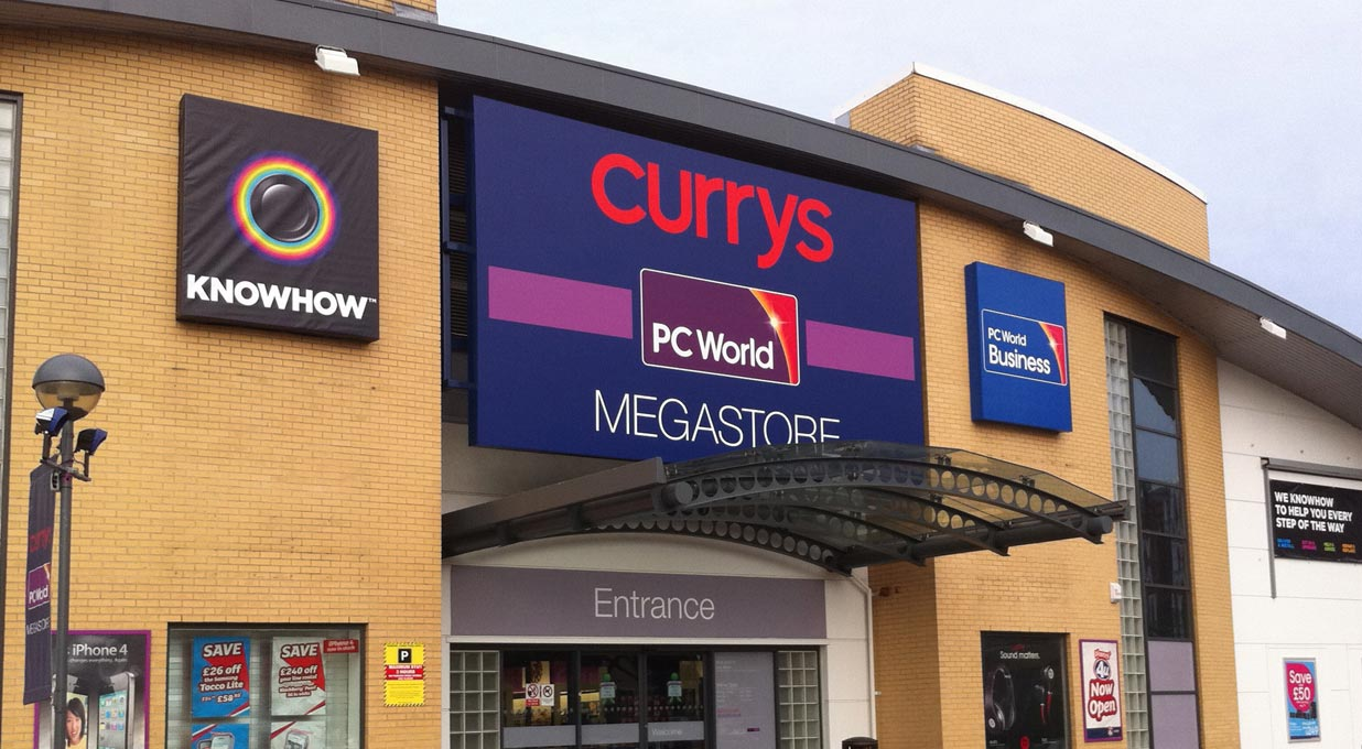 Dixons Carphone - shares fall on lower profits and weaker