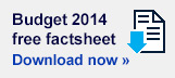 Download our free Budget 2014 factsheet