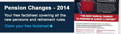 Claim your free pension changes 2014 factsheet