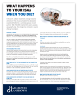 What happens to your ISA when you die?