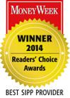 MoneyWeek Best SIPP Provider 2014