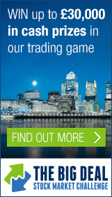 WIN up to £30,000 in cash prizes in our trading game