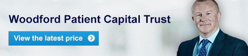 Woodford Patient Capital Trust - view the latest price