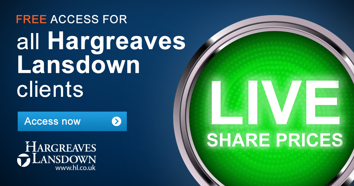 Hl Stock Quote Awesome Live Share Prices  Access Free Live Share Prices Via Hl.co.uk