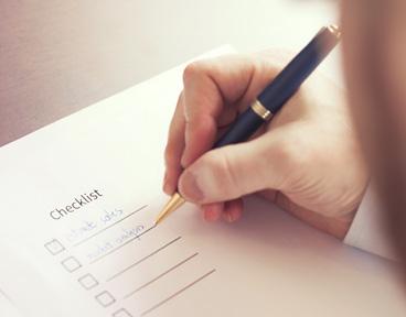 End of tax year checklist