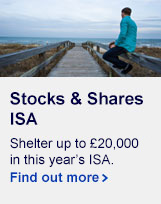 Shelter up to £20,000 in this year's ISA