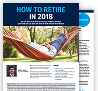 How to retire in 2018