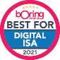 Best digital ISA 2021 award