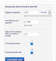 ISA calculator