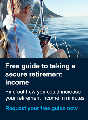 Download our free Guide to taking a secure retirement income