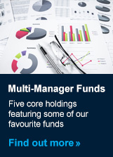 Find out more about our range of Multi-Manager Funds