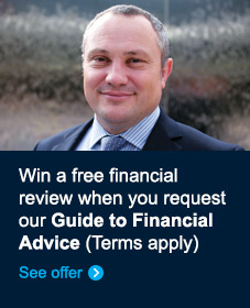 Win a free financial review when you request our Guide to Financial Advice