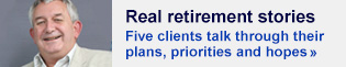 Follow our five clients as they approach retirement