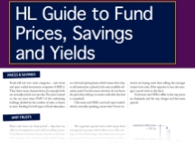 Guide to Fund Prices, Savings and Yields