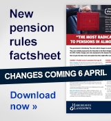 Download a free copy of the new pension rules factsheet