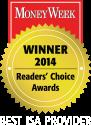 MoneyWeek ISA SIPP Provider 2014
