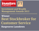 Best stockbroker for customer service