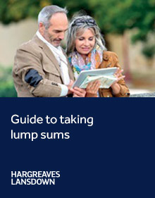 Guide to taking lump sums