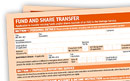 How to complete a Fund & Share transfer form