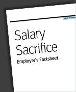 Salary Sacrifice Factsheet
