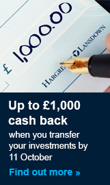 More about our cash back offer
