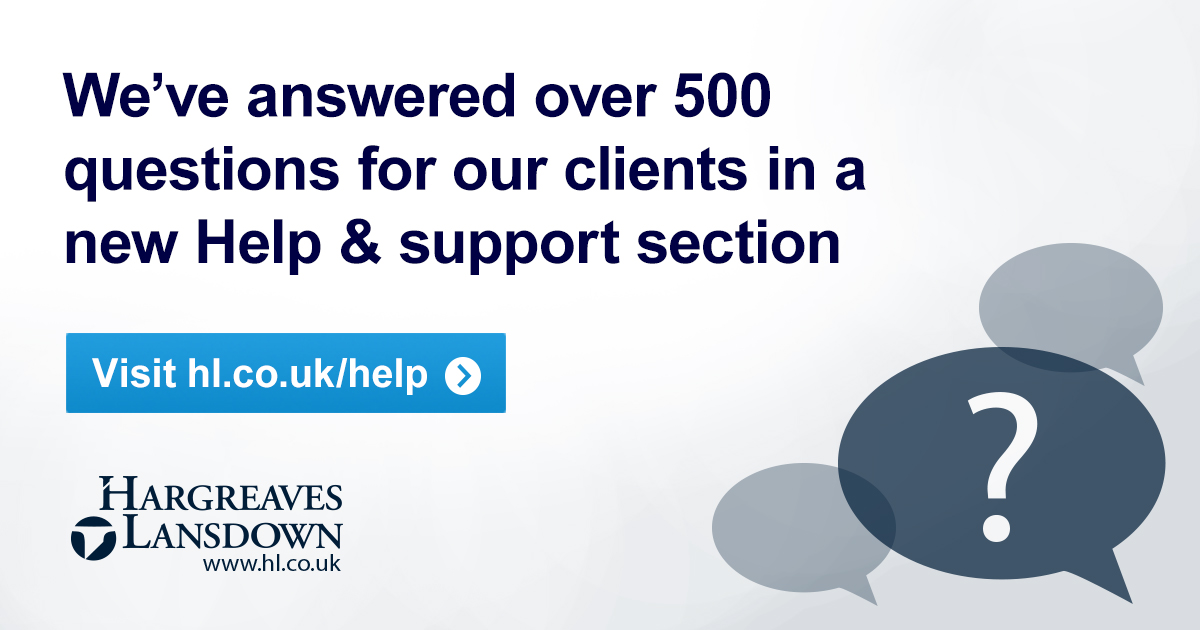 Help & support | Hargreaves Lansdown