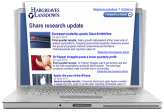 share research alerts