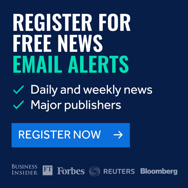 Register for free news email alerts