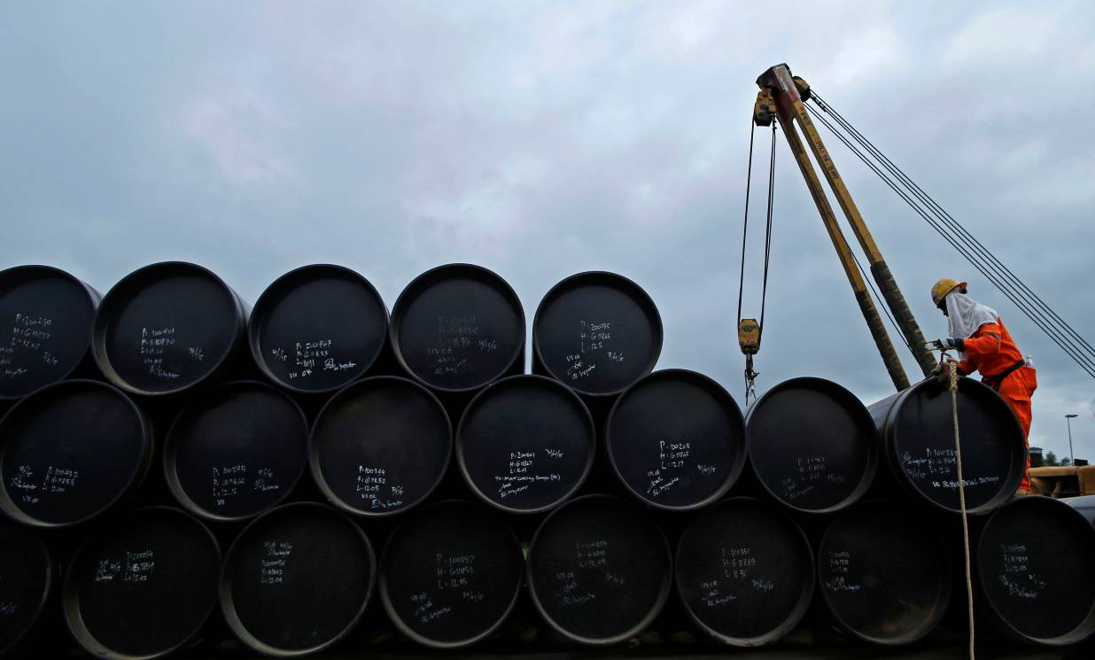 Oil falls second day on signs of smaller US stockpile decline