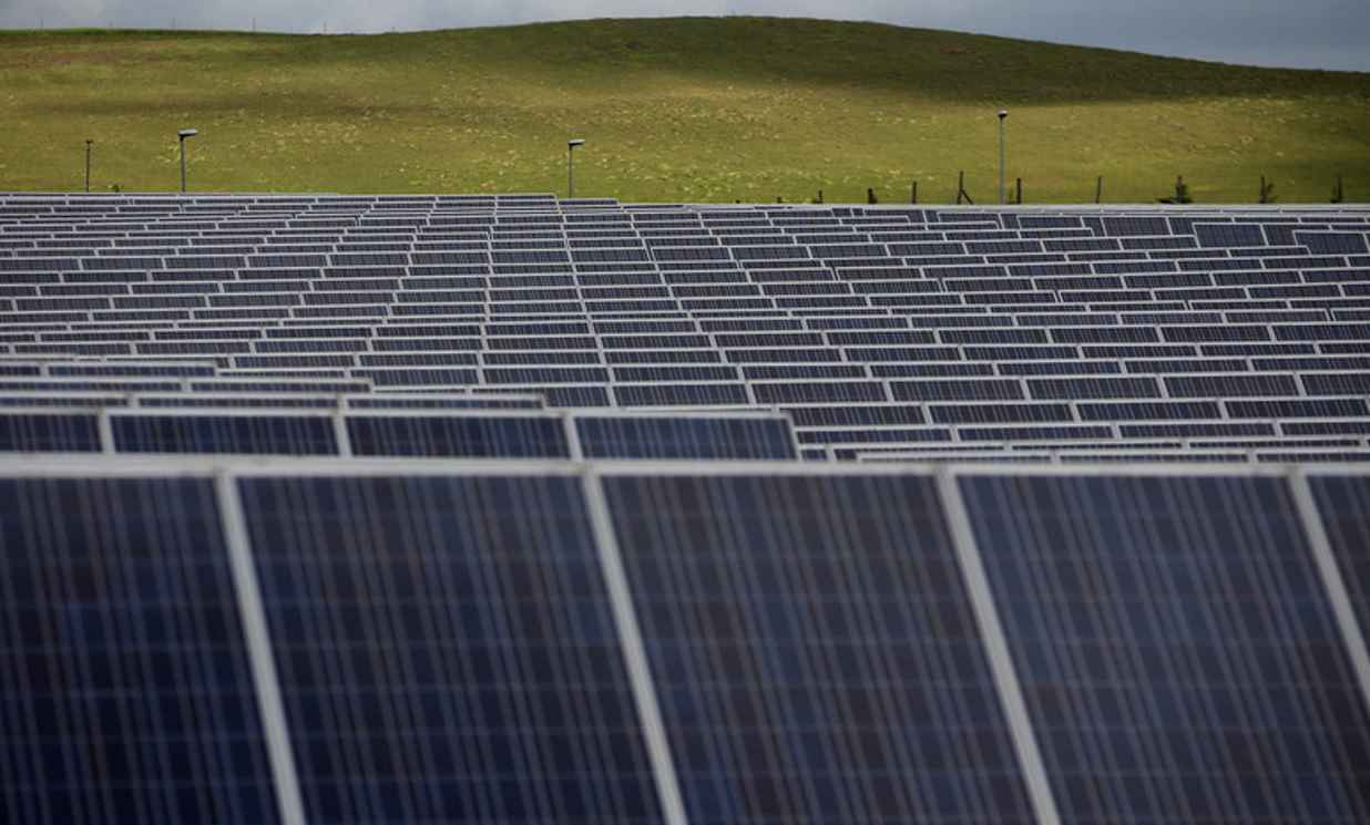 Large-scale solar power set for double-digit growth