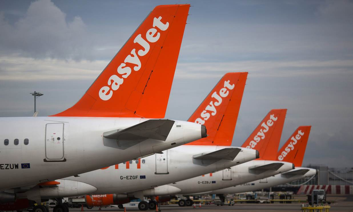EasyJet annual profit falls as capacity glut weighs on fares