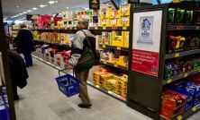UK retail sales drop with 'stark slowdown' for food stores