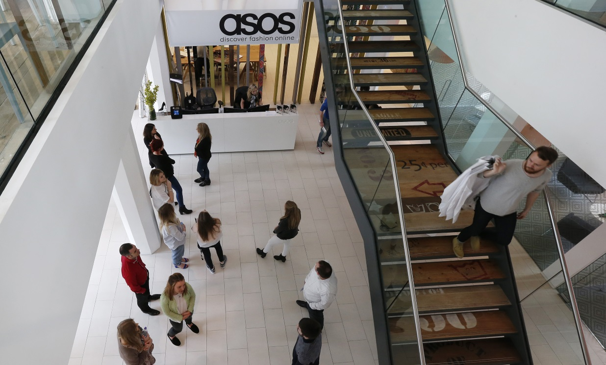 ASOS blames warehouse issues for latest profit alert