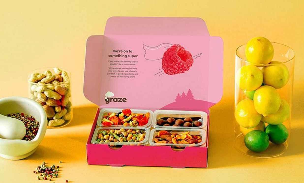 Unilever acquires graze to boost presence in healthy snacks market