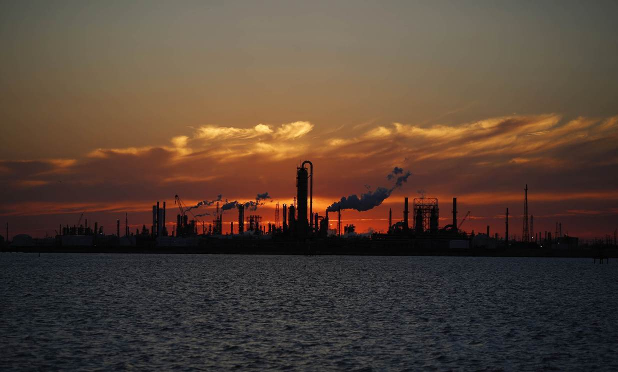 Oil set for first weekly loss in a month as storm heads to US