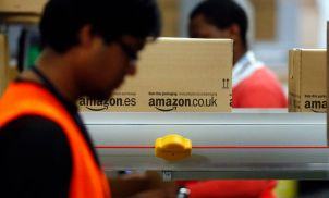 Amazon has started moving staff into a London office with space for 5,000 people
