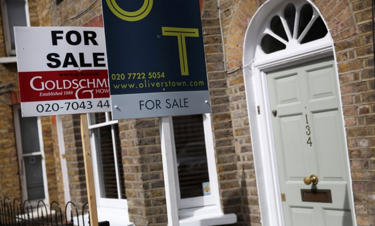 London property market 'won't bounce back until 2021'