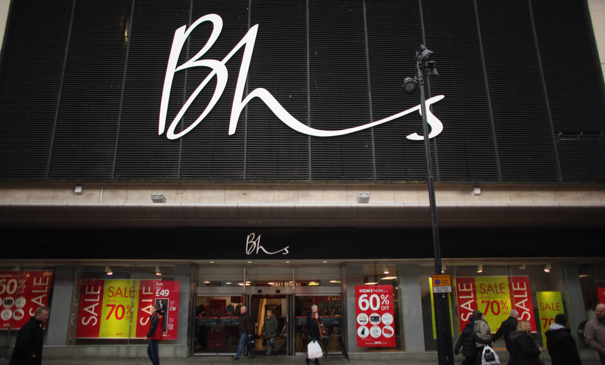 BHS landlords in race to find new owners for closed shops