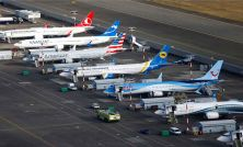 Boeing plans to hire hundreds of temp workers to help deliver grounded 737 Max airplanes