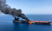 Two tankers attacked in the Gulf of Oman as tensions rise